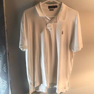 Ralph Lauren Polo Shirt White